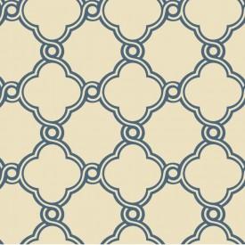 Fretwork Trellis Wallpaper