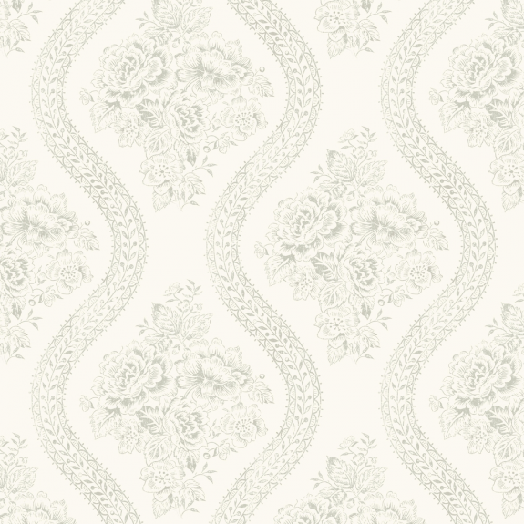 Magnolia Home Coverlet Floral Removable Wallpaper