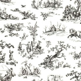 Scenic Toile Wallpaper