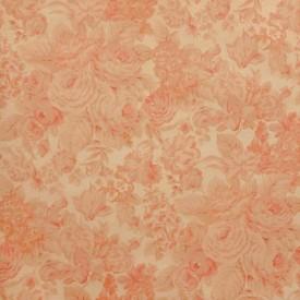 Waverly Heirloom Rose Wallpaper