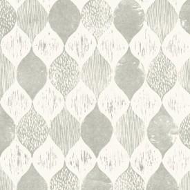 Magnolia Home Woodblock Print Wallpaper