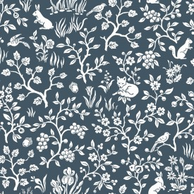 Magnolia Home Fox & Hare Wallpaper