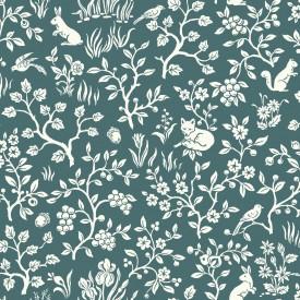 Magnolia Home Fox & Hare Wallpaper