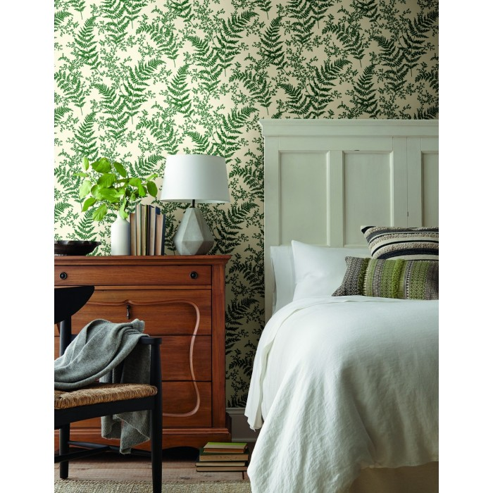 Me1585 Magnolia Home Forest Fern Wallpaper Discount