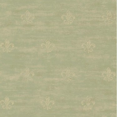 Distressed Fleur de Lis Wallpaper