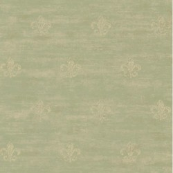 Distressed Fleur-de-Lis Wallpaper