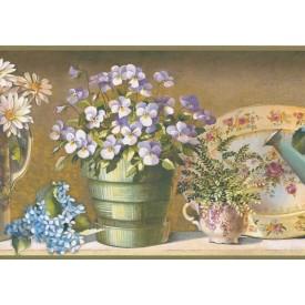 Gardener's Tea Set Border