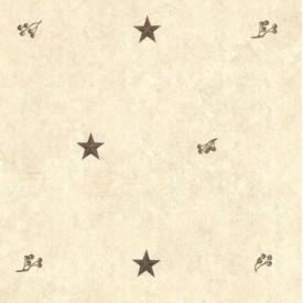 Stars & Rosehips Wallpaper