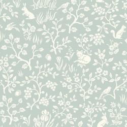 Fox & Hare Wallpaper
