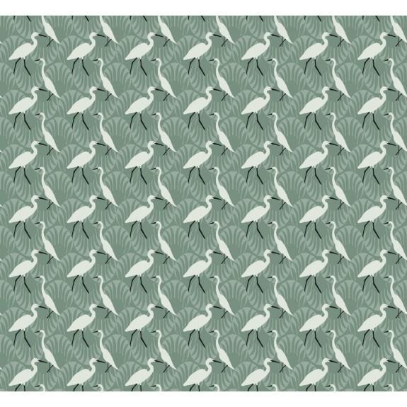 Evening Egret Wallpaper