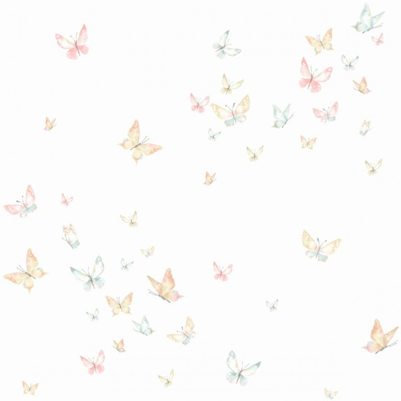 Watercolor Butterflies Wallpaper
