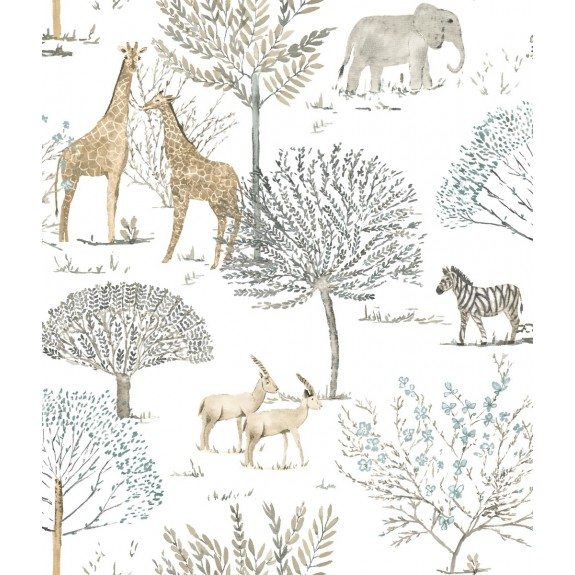 On The Savanna Wallpaper