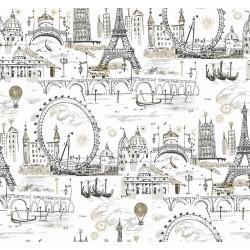 Novelty Euro Scenic Wallpaper