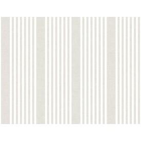 French Linen Stripe Wallpaper