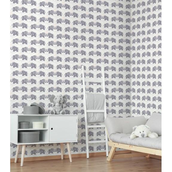 Elephants Love Wallpaper