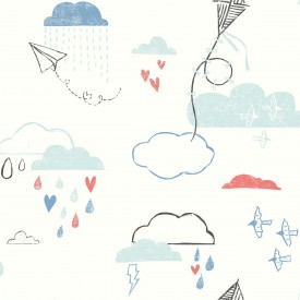 Kites In The Clouds Wallpaper
