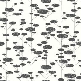 Retro Trees Wallpaper
