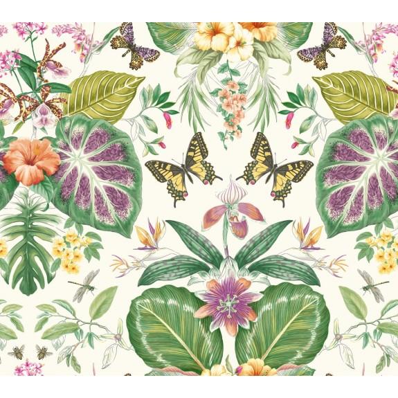 Tropical Butterflies Wallpaper