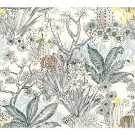 Flowering Desert Wallpaper