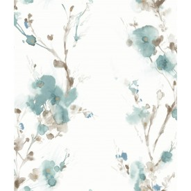 Candice Olson Charm Wallpaper - Teal