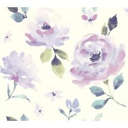 Watercolor Blooms Wallpaper