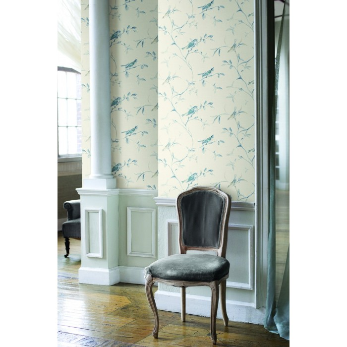 Ve7071 Birds Of A Feather Wallpaper Discount Wallcovering