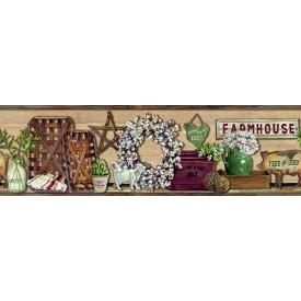 Farmhouse Shelf Border