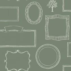 Chalkboard Frames Wallpaper