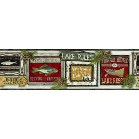 Lake Rules Border