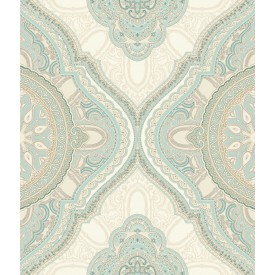 Paisley Medallion Wallpaper