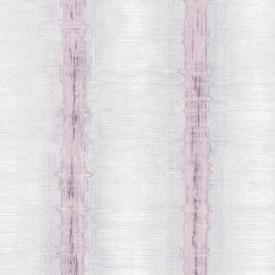 Symphony Wallpaper in Pink, Purple & Greys