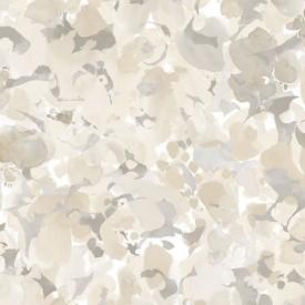 Bloom Wallpaper in Beige & Browns