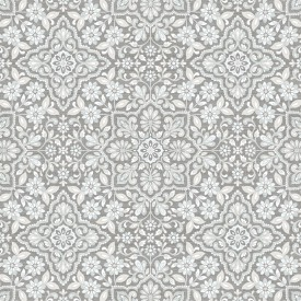 Floral Tile Wallpaper