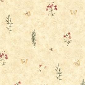 Summer Botanical Sidewall Wallpaper