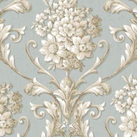 Floral Damask Wallpaper