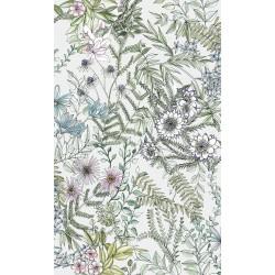 Full Bloom Off-White Floral Wallpaper
