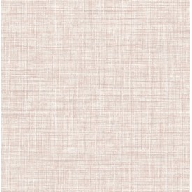 Mendocino Rose Linen Wallpaper