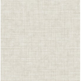 Mendocino Beige Linen Wallpaper