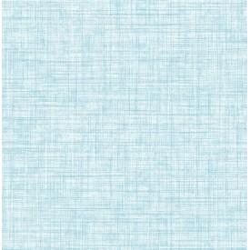 Mendocino Blue Linen Wallpaper