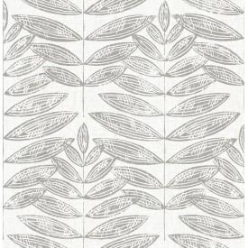 Akira Dove Leaf Wallpaper