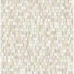 Dobby Cream Geometric Wallpaper