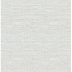 Lilt Light Blue Faux Grasscloth Wallpaper