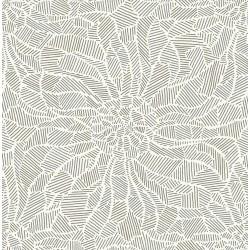 Daydream Moss Abstract Floral Wallpaper