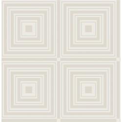 Luminous Silver Geometric Wallpaper