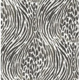Splendid Platinum Animal Print Wallpaper