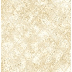 Mercury Glass Gold Distressed Metallic Wallpaper