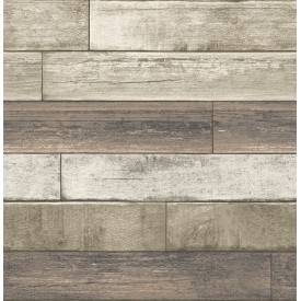 Weathered Plank Rust Wood Texture Wallpaper