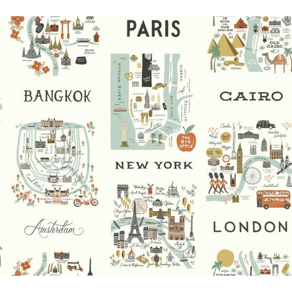 City Maps Wallpaper