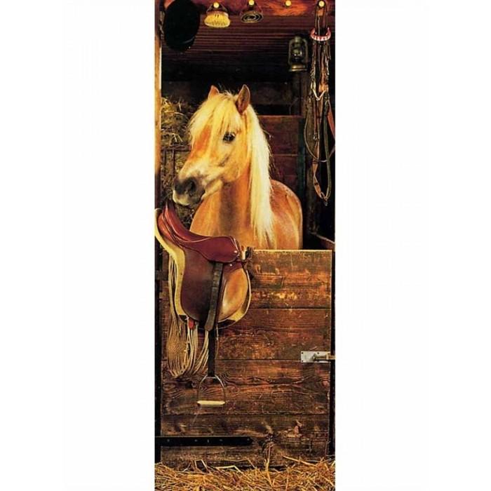 Lp5068 Pony Time Door Mural Discount Wallcovering