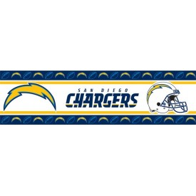 San Diego Chargers Peel and Stick Border